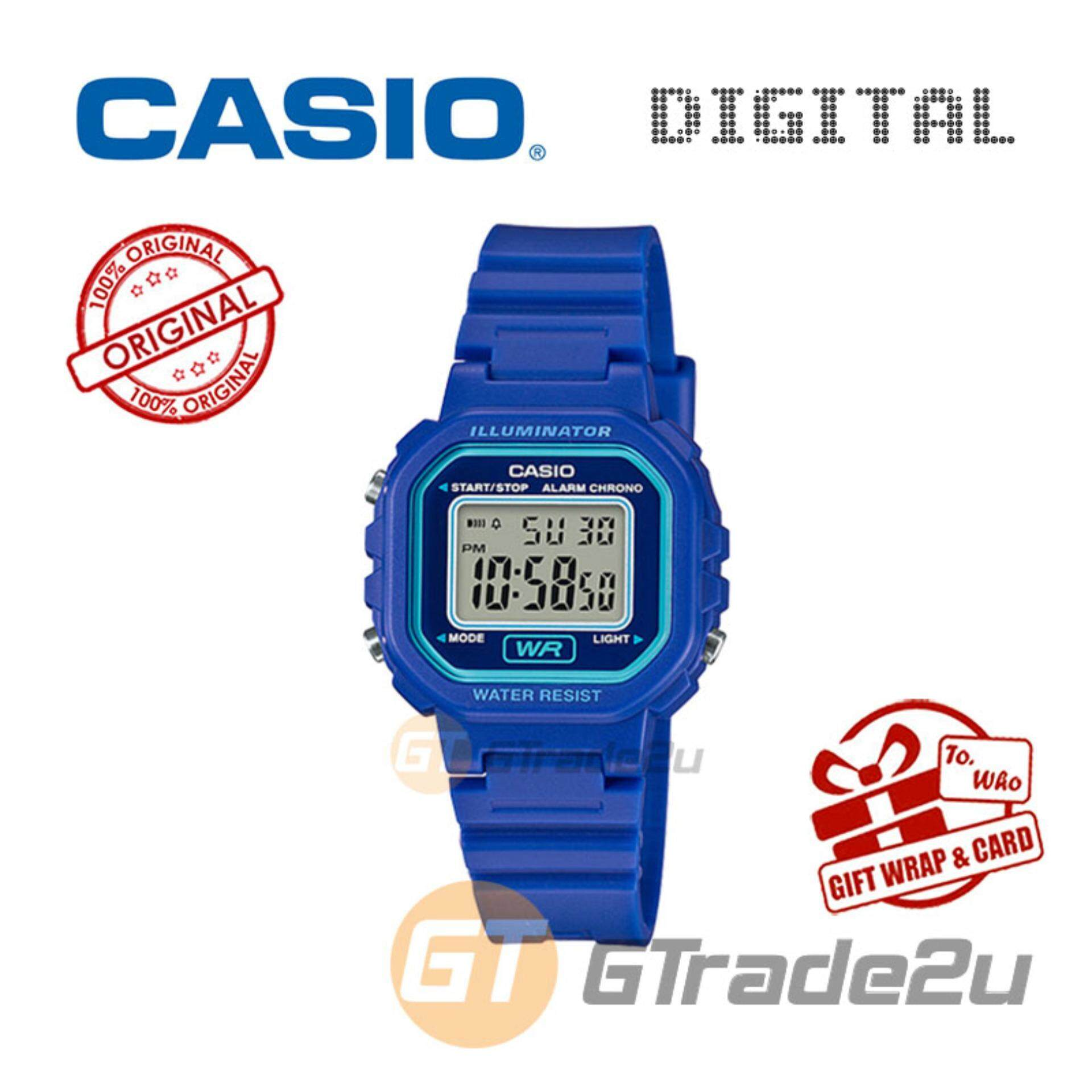 Casio Watches With Best Price At Lazada Malaysia Databank Ca 506 1df Jam Tangan Pria Silver Strap Stainless Steel Kids Ladies La 20wh 2av Digital Watch Small Cute Petit