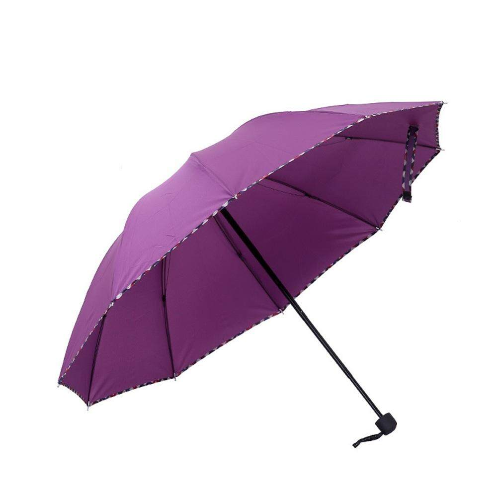 Y-Crown Genuine Brand Automatic Folding Umbrella High Quality Sunny And Rainy Umbrellas Windproof Umbrellas By Y-Crown.