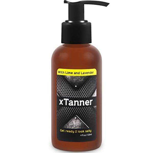 Natural Self Tanner For Men 4oz: Get Instant Face & Body Tan! Organic Indoor Sunless Tanning Lotion Without Bronzer. Clean Scent. Gradual Self-Tanner For Sun Kissed Glow. Tanners For Sensitive Skin By One Street Mall.