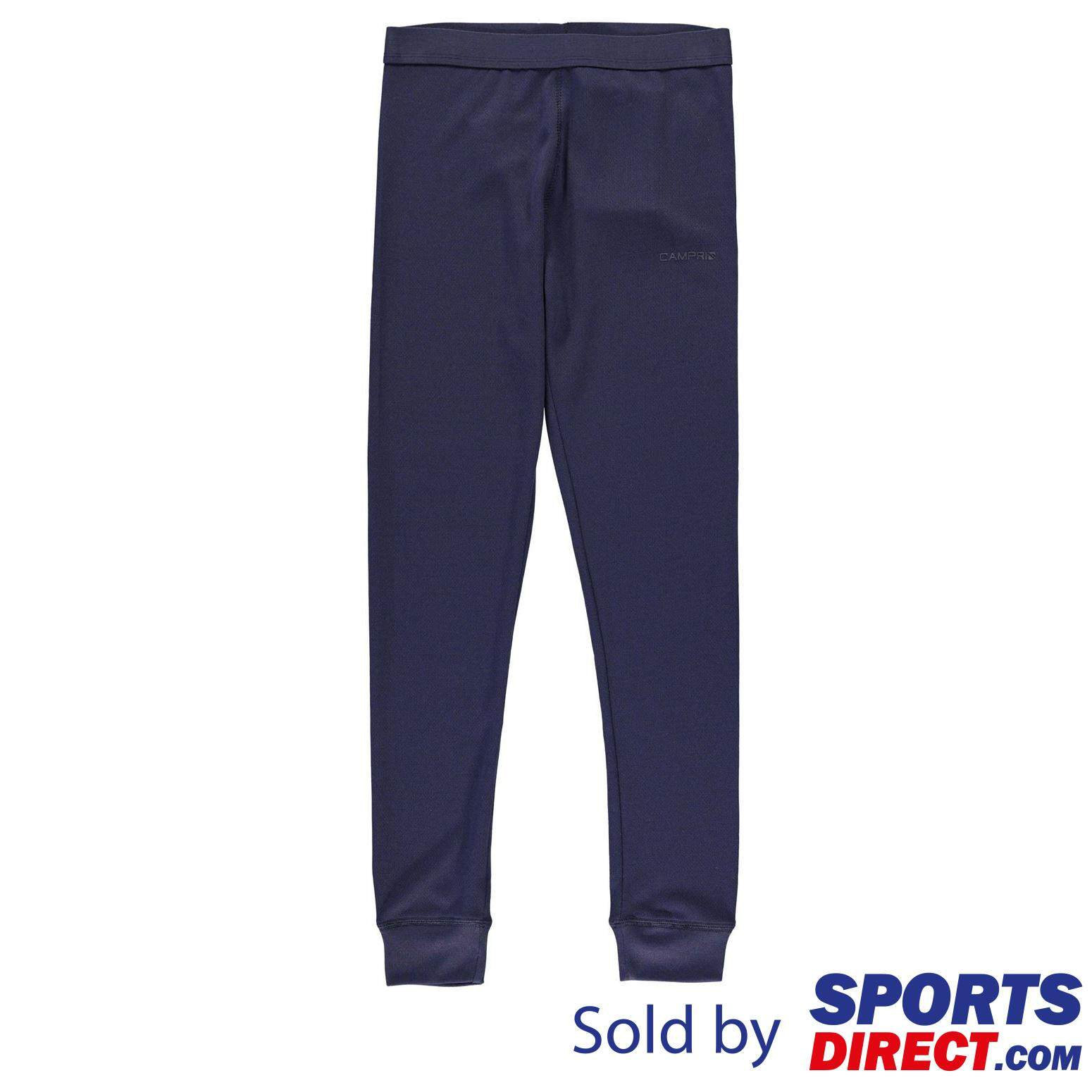 Campri Thermal Baselayer Pants Unisex Junior By Sports Direct Mst Sdn Bhd.