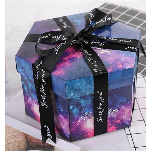DIY Explosion Box Surprise Boxing Scrapbooking Photo Album With Kit For Valentines Day Wedding Birthday New