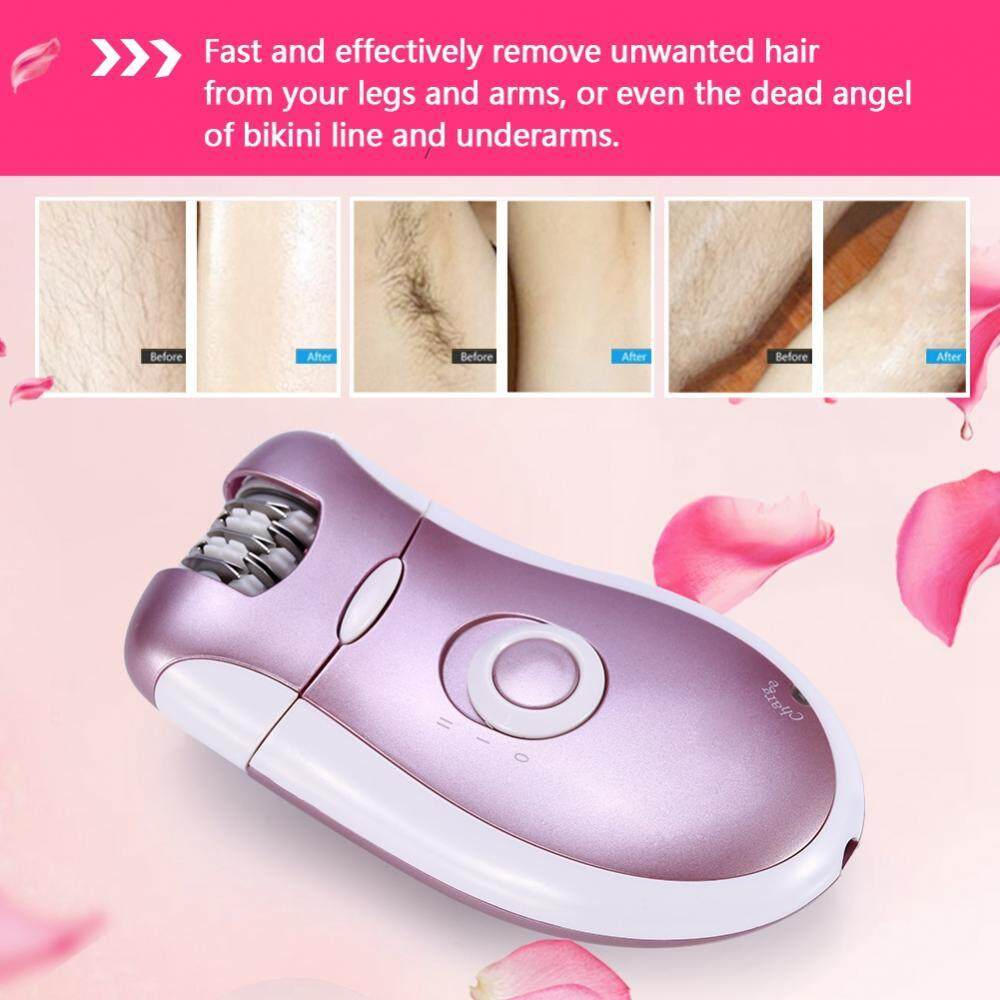 KEMEI Rechargeable 2 In 1 Woman Epilator Facial Body Hair Removal Electric Lady Care Machine