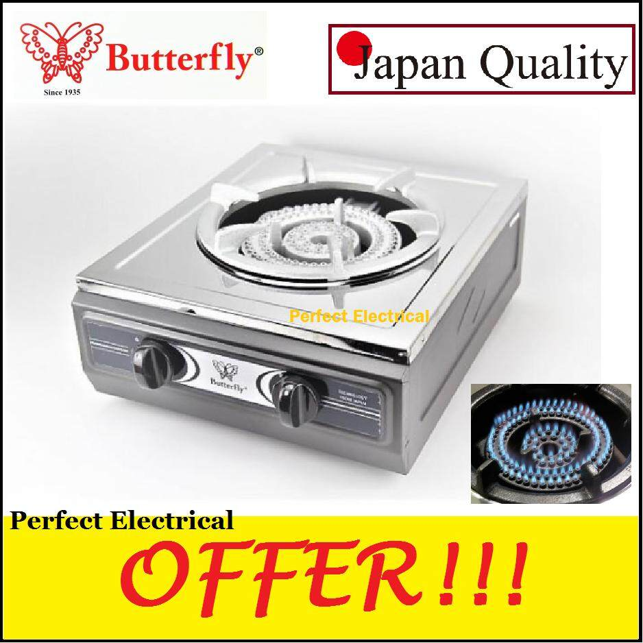 Erfly B 35j Stainless Steel Single Cast Iron Gas Stove 1 Burner