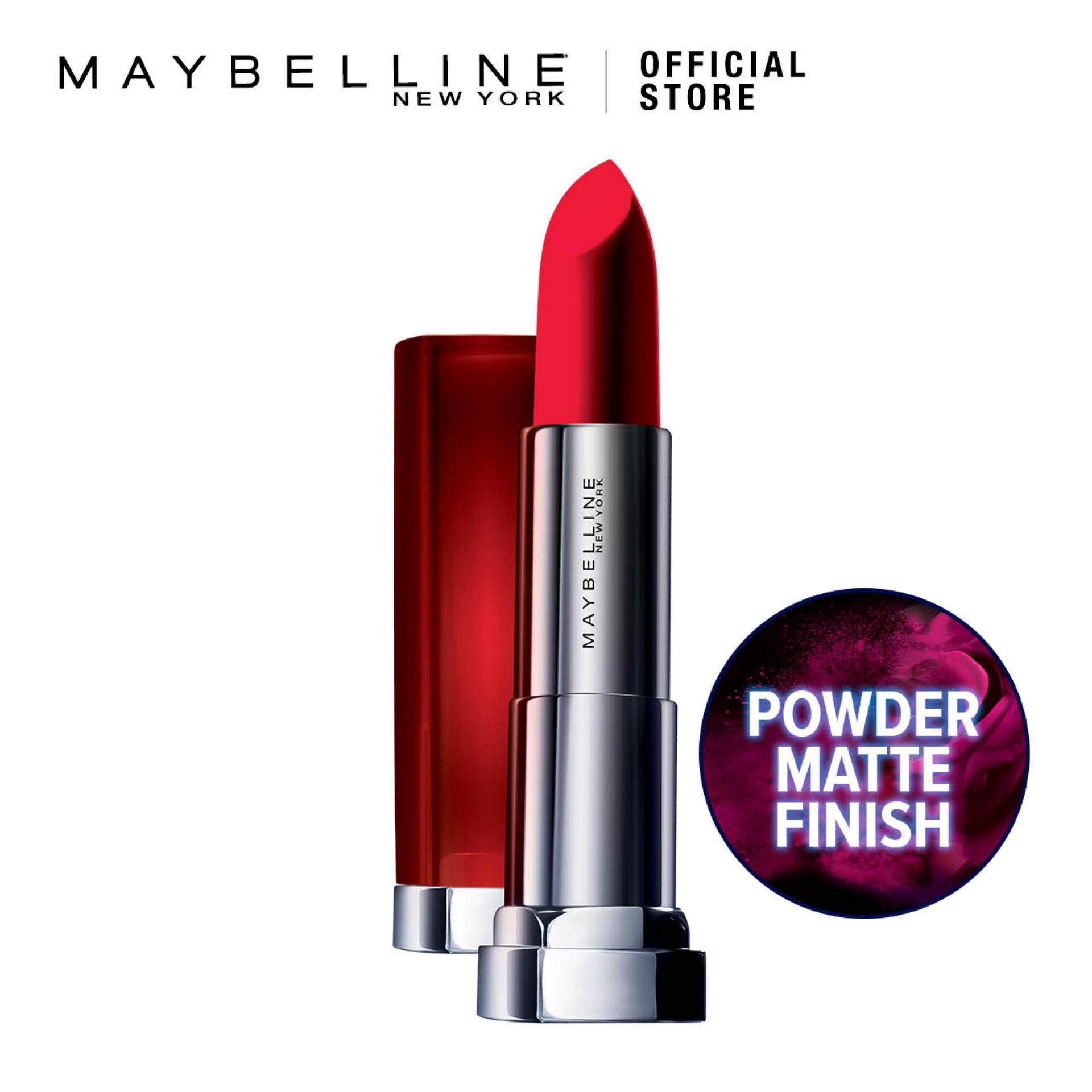 Maybelline Lips Makeups Lipsticks Price In Malaysia Best Color Sensational Vivid Matte Lipstick Powder Mattes