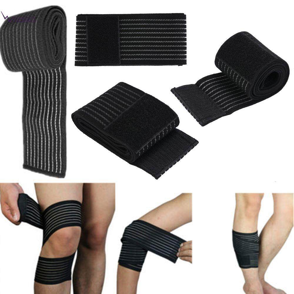 Wishmall Protector Gear Elastic Bandage Muscle Bandage Nylon Black Safety