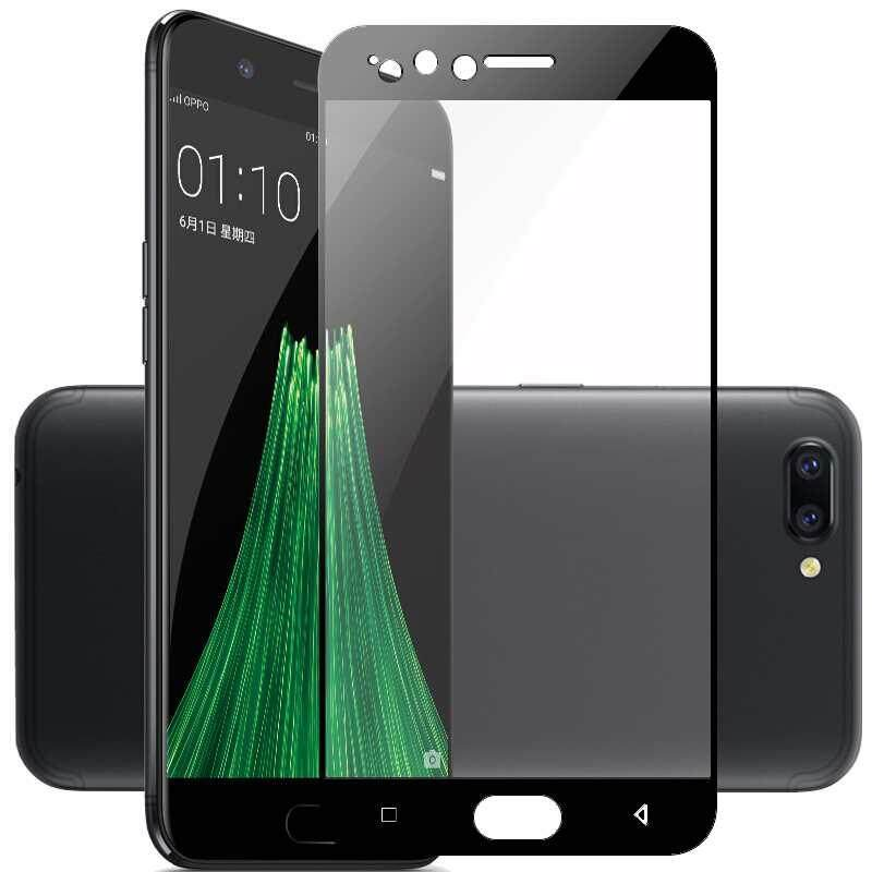 zoahu Screen Protector for OPPO R11 Full Covered Tempered Glass Film Protector Tool
