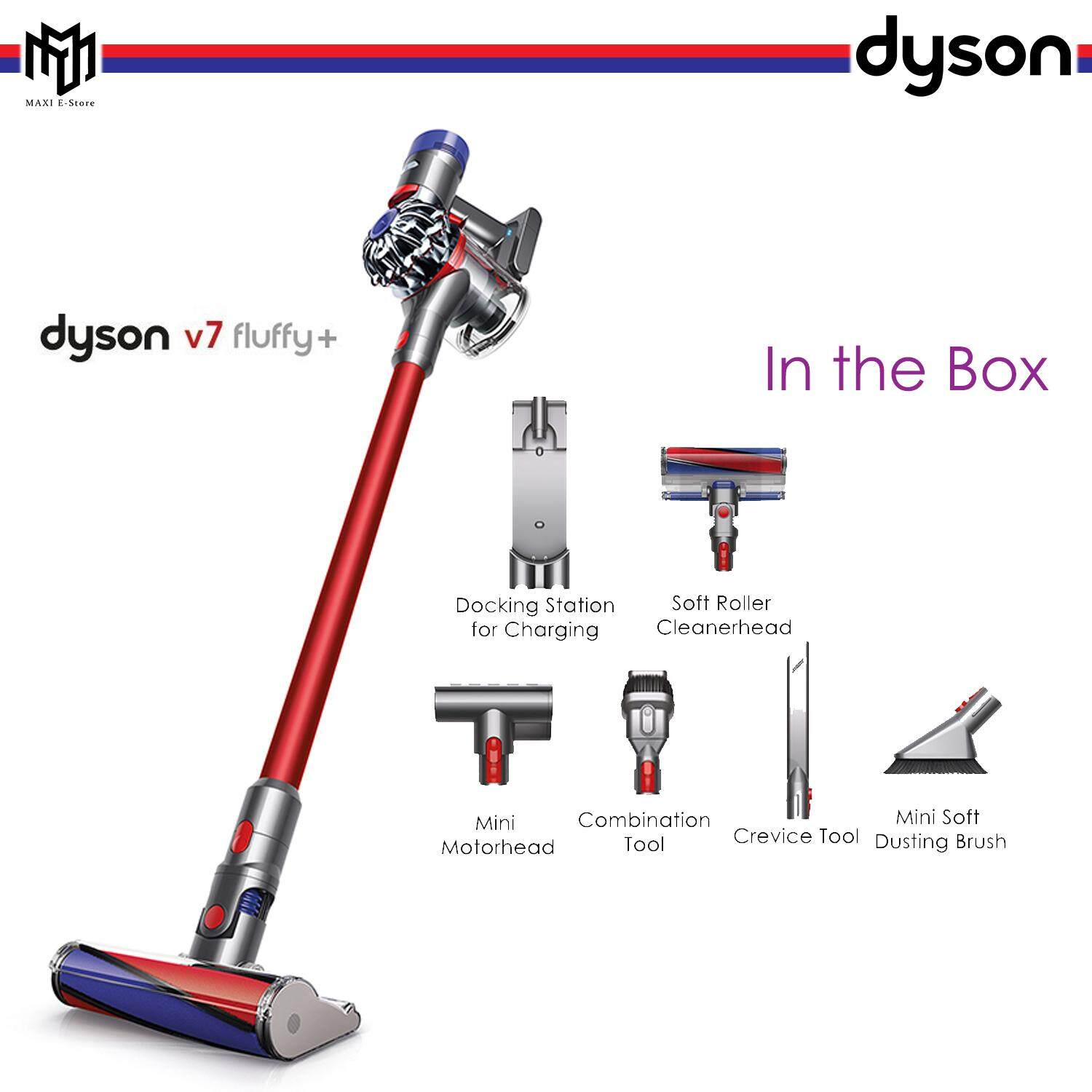 Dyson Vacuum Cleaners Price In Malaysia Best Pro Parts Diagram Addition Dc33 As Well Rug V7 Fluffy V Cleaner Cordless Soft Rooler