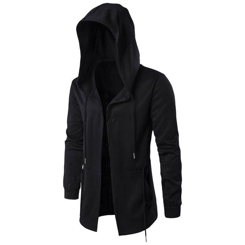 44f6e5a781cf54 Amberheard Fashion Men Hooded Sweatshirts Hip Hop Mantle Hoodies Jacket  Long Sleeve Cloak Male Coat Outwear