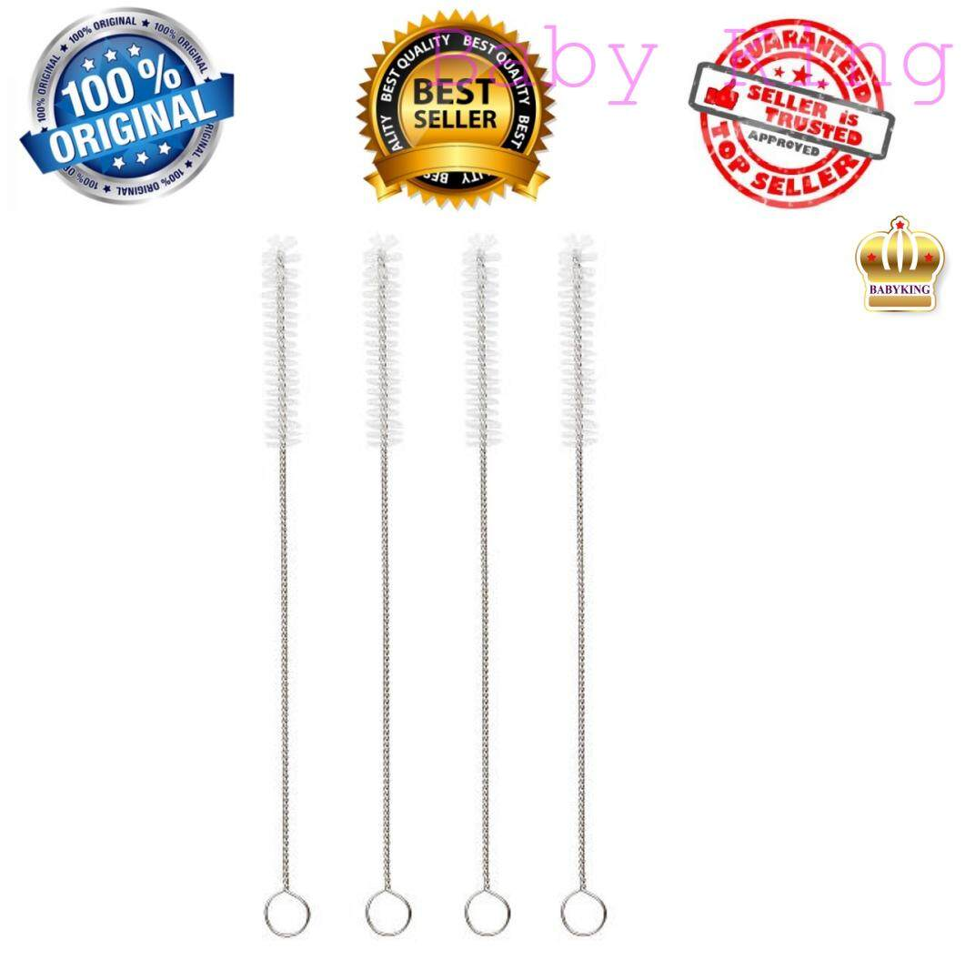 [flash Sale] Baby King Premium Quality Stainless Steel Straw Brush (1 Pc) By Baby King.