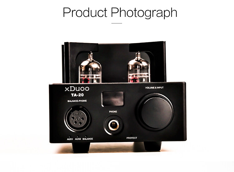 XDUOO TA-20 12AU7 HIFI AUDIO High Performance Balanced Tube Headphone  amplifier