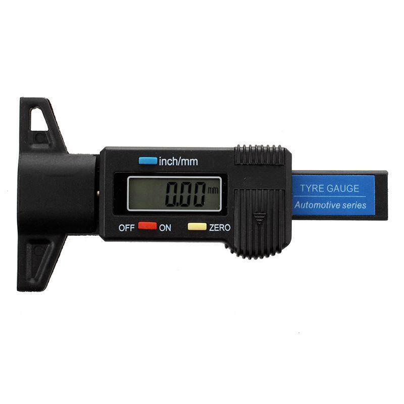 Digital Depth Gauge Caliper Tread Depth Gauge Lcd Tyre Tread Gauge By Jwerlyday.