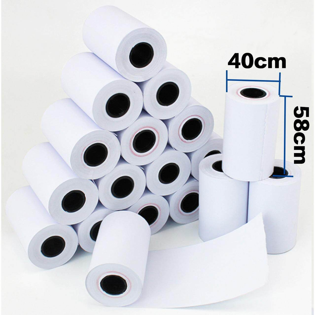 SSM 10 Roll Thermal paper Roll 58mm x 40mm For 58mm bluetooth Printer