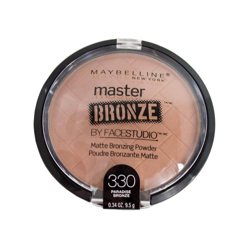 Maybellines Face Studio Master Bronze Matte Bronzing Powder [paradise Bronze 330] By Essential Beauty House.