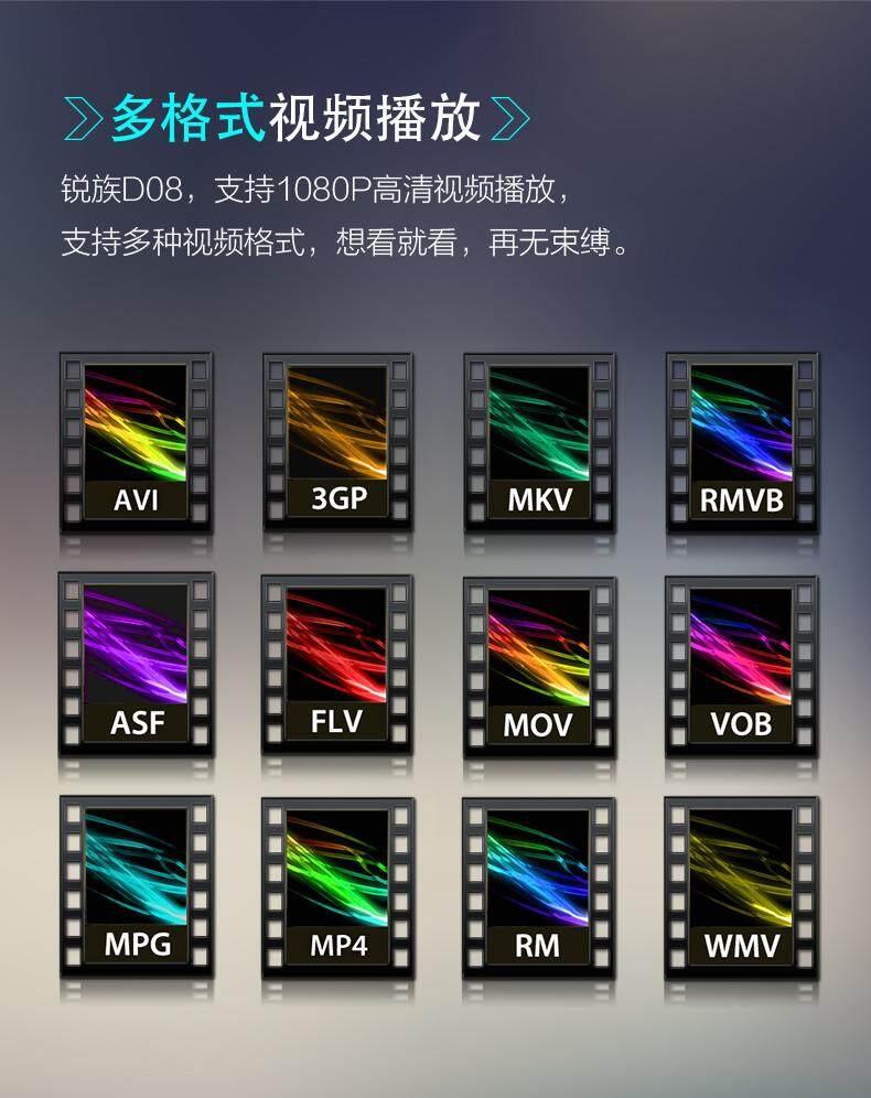 RUIZU D08 MP3 Player-4