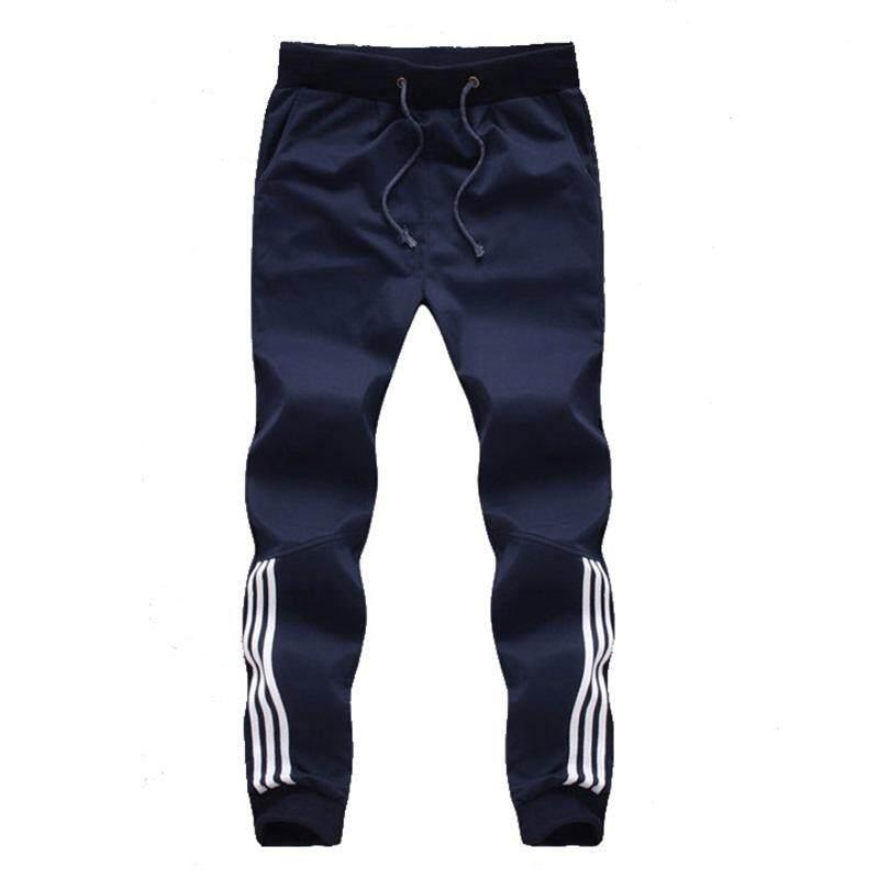 81dde01098 2019 New Fashion Tracksuit Bottoms Mens Casual Pants Cotton Sweatpants Mens  Joggers Striped Pants Gyms Clothing Plus Size 5XL