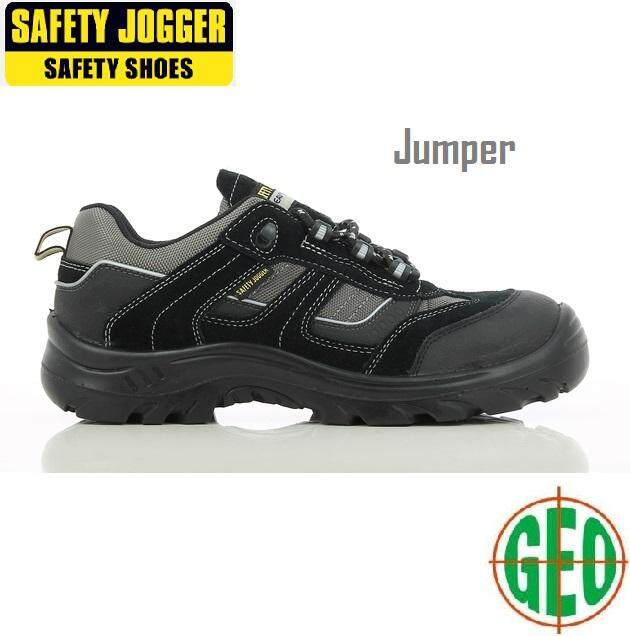Safety Jogger JUMPER Low Cut Metal Free Safety Shoe Size 38-46 Kasut Keselamatan [ GEOLASER ]