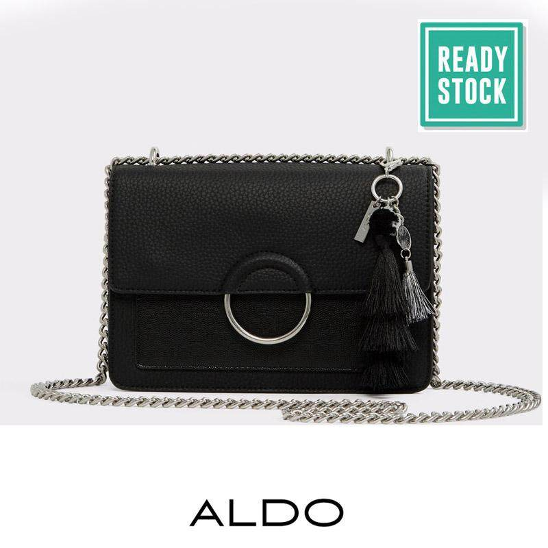 Malaysia Authentic Aldo Ring Detailed Crossbody Black
