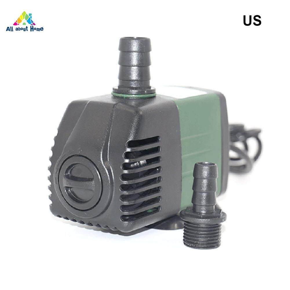 ABH Ultra-Quiet Submersible Water Fountain Pump Filter Fish Pond Aquarium Water Pump
