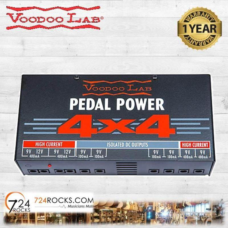 Voodoo Lab Pedal Power 4x4 Isolated Power Supply Malaysia