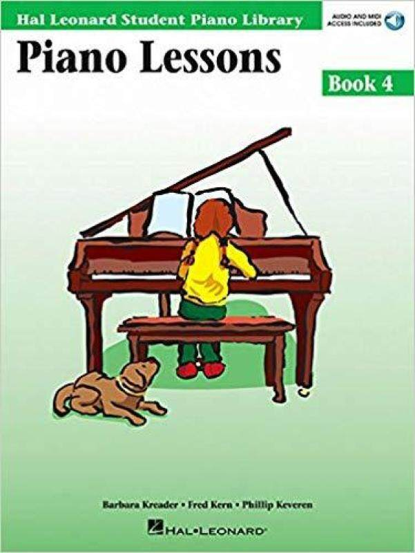 Hal Leonard Student Piano Library Piano Lessons Book 4 (CD Included) Malaysia