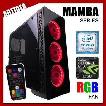 ARTIDEA NOVA MAMBA GAMING PC ( i3-8100 / H310M MOBO / 8GB 2666MHz RAM / GTX 1050 2GB / 1TB HDD / FSP 500W BRONZE 80+ PSU )