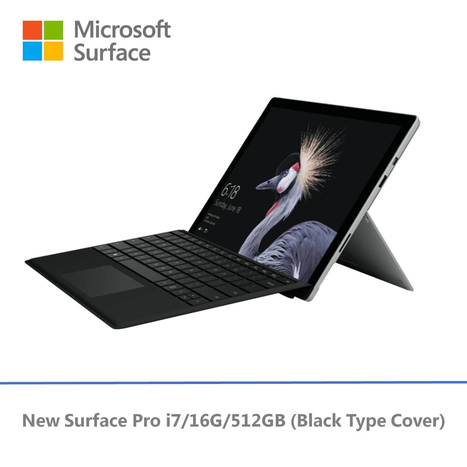 NEW Microsoft Surface Pro - i7 / 512GB / 16GB RAM + Free Signature Pro Type Cover Malaysia