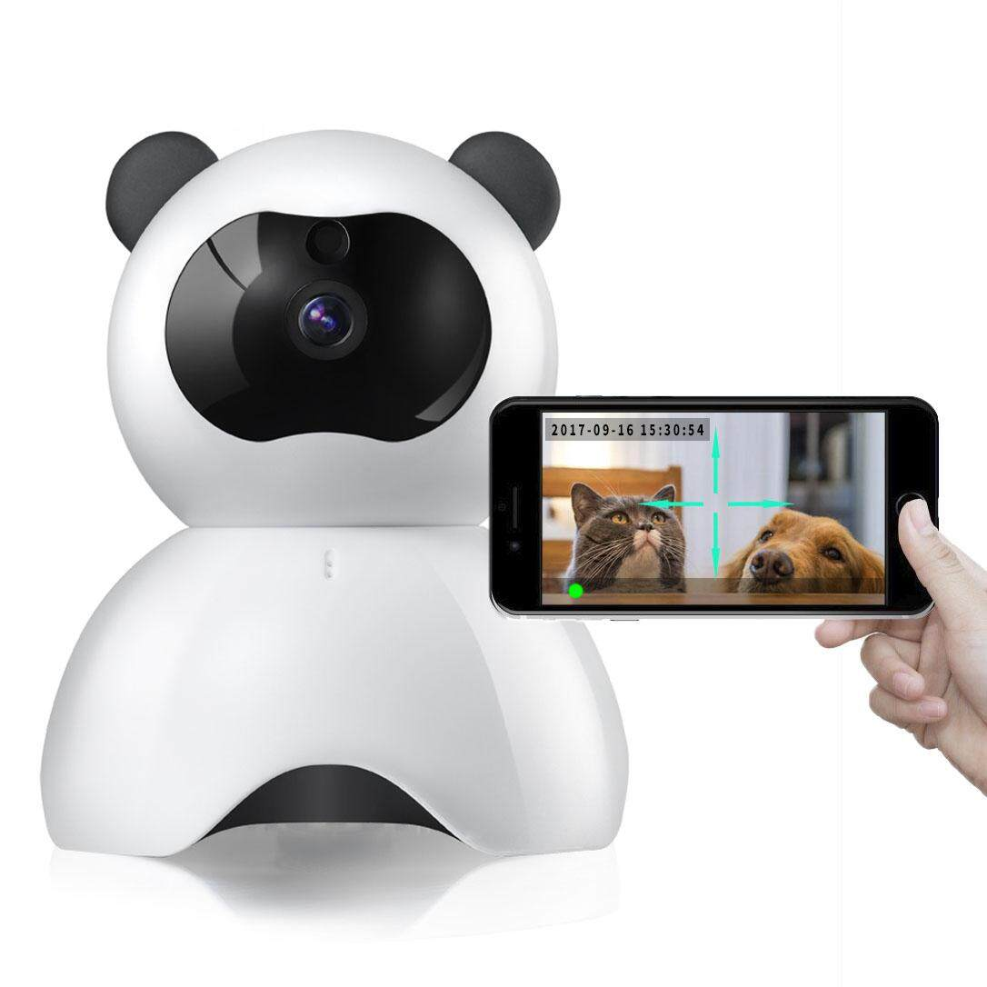 Pet Monitor 720p Hd Wireless Dog Monitor Two-Way Audio Indoor Home Security Ip Camera Night Vision By Five Star Store.