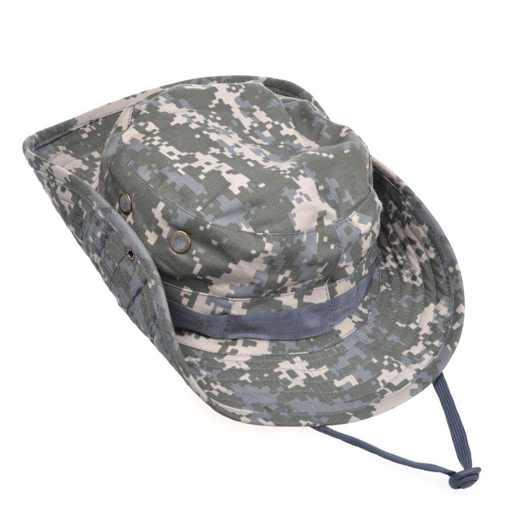 Sdd Military Camouflage Bucket Hats Camo Cs Fisherman Hats With Wide Brim Sun Fishing Bucket Hat Camping Sunscreen Hat(style) By Sdd International.