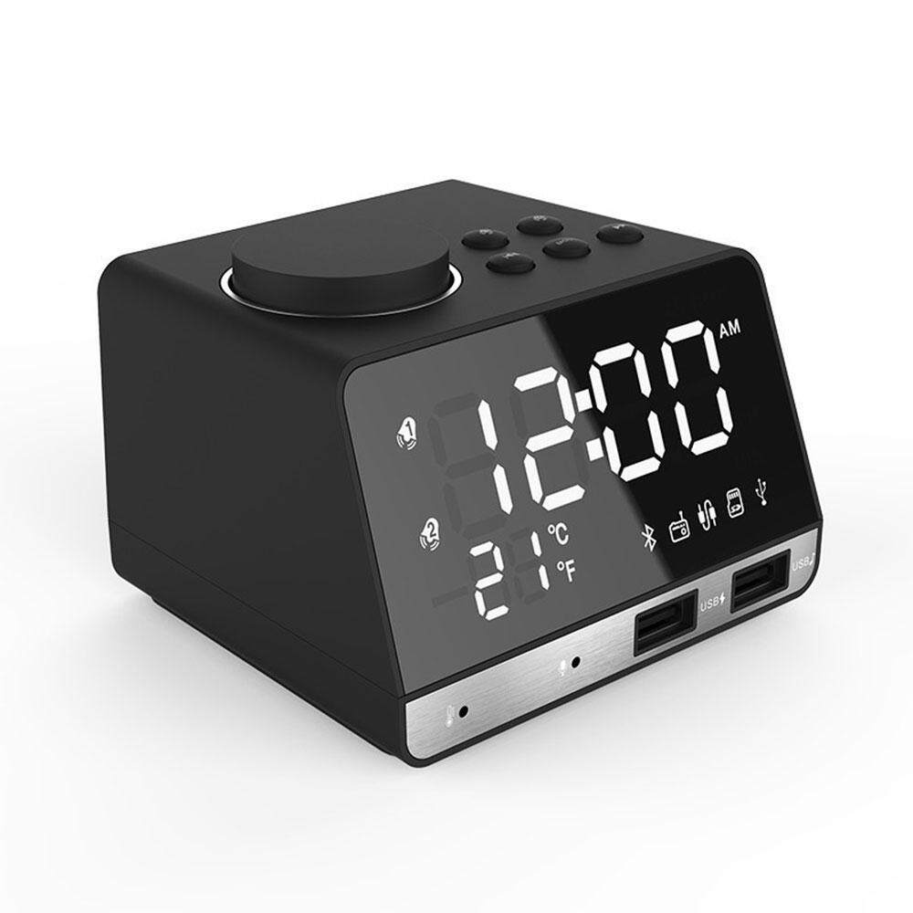 Home Clocks Buy At Best Price In Malaysia Lazada Colorful Geometric Shapes Circuit Board Pattern Square Wall Clock Womdee Usplugled Alarm Fm Radiowith Wireless Bluetooth Speaker Player