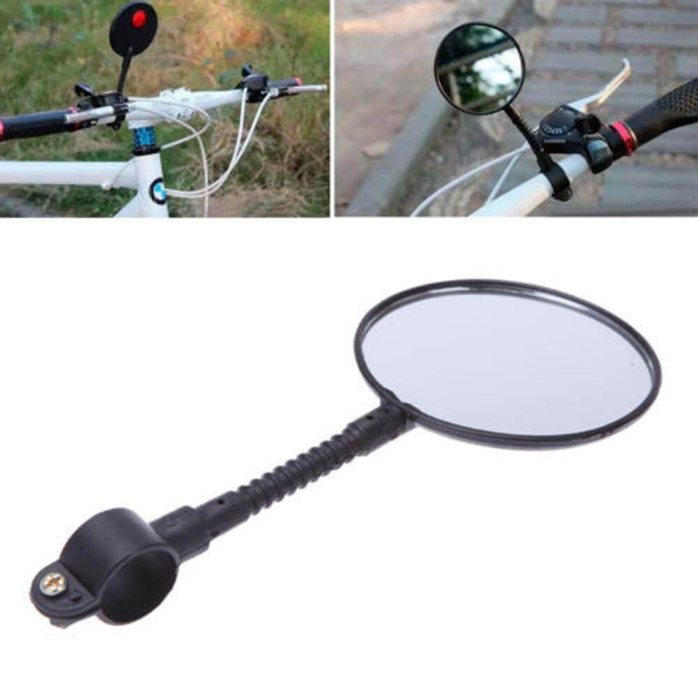 Quality Bike Bicycle Handlebar Flexible Rear Back View Rearview Mirror Black By Dakeres.
