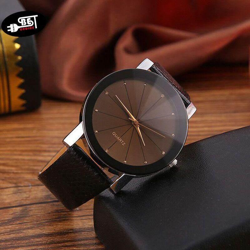 YBC Retro style Mr.Choc Newest Couple Fashion Quartz Watch Retro Style Casual Wristwatch Diamond Leather Watch Malaysia