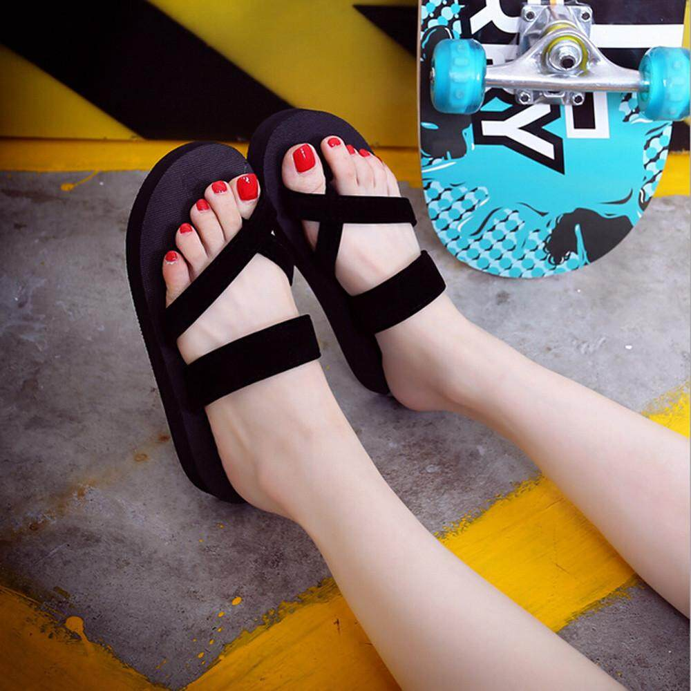 ef4554616b9f Ulamore Womens Summer Flip Flops Casual Slippers Flat Sandals Beach Open  Toe Shoes