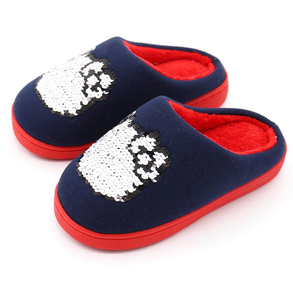 d3d421521c94 Hello Kitty hello kitty Magic Sequin Girls  Slipper Anti-slip Soft Bottom  Snnei Big