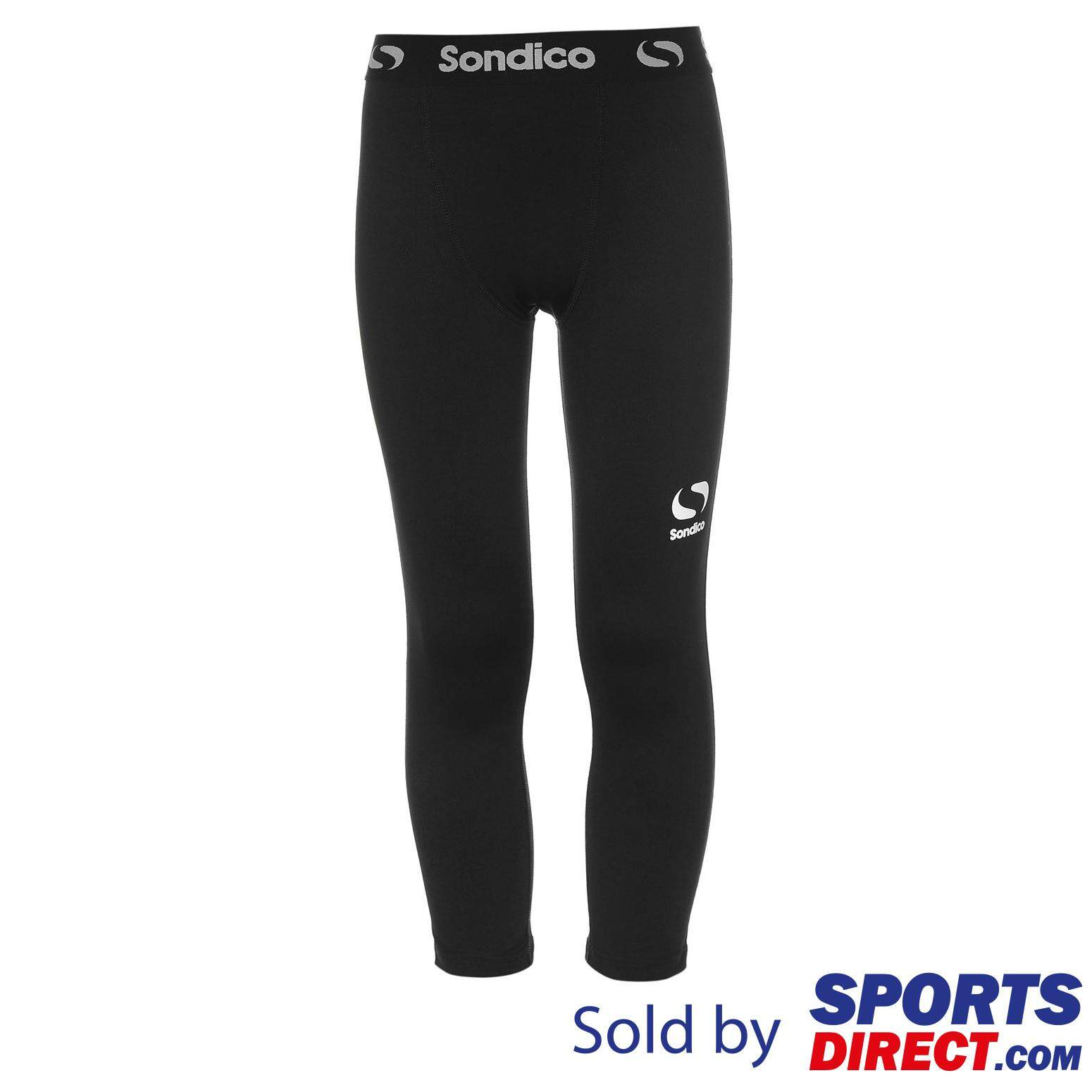 Sondico Kids Boys Core Three Quarter Tights (black) By Sports Direct Mst Sdn Bhd.
