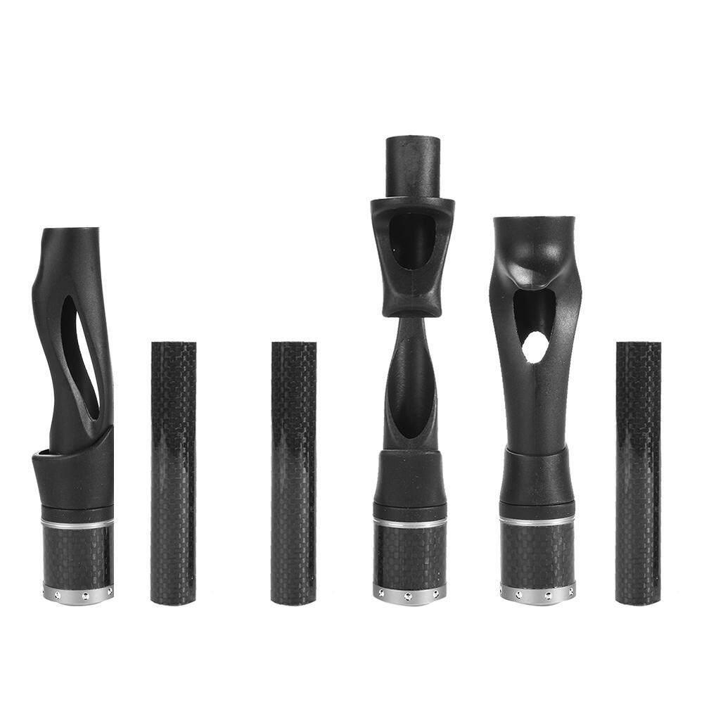 ACS Plastic Reel Seat Fishing Rod Building Repair DIY Kit Fishing  Parts(Black)-MVS - intl