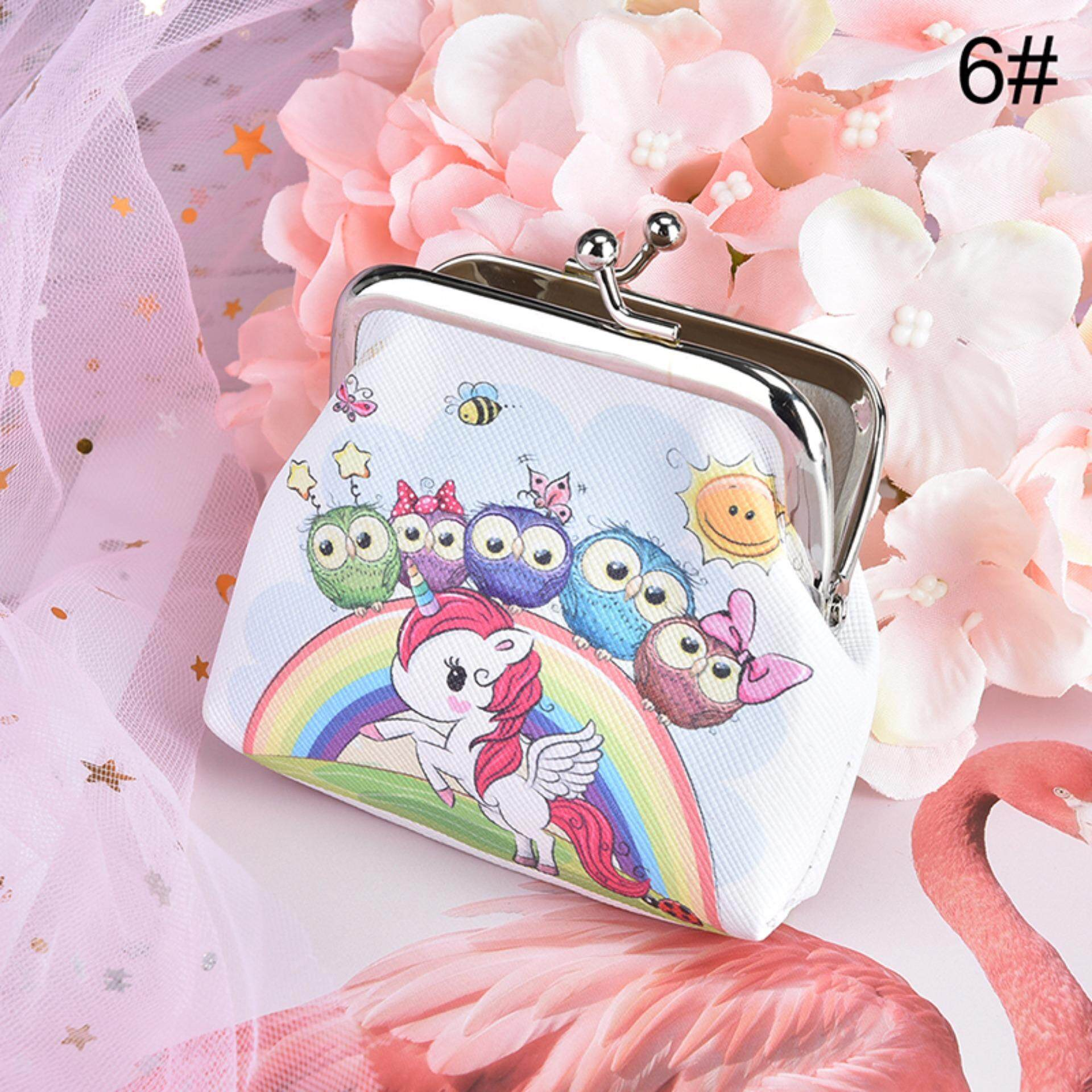 3d Mini Printing Unicorn Travel Wallet Ladies Key Holder Cosmetic Bag By The Sunflower Mall.