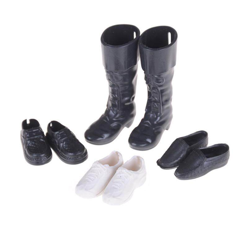 4 Pairs//Set Dolls Cusp Shoes Sneakers Knee High Boots for  Boyfriend ^P