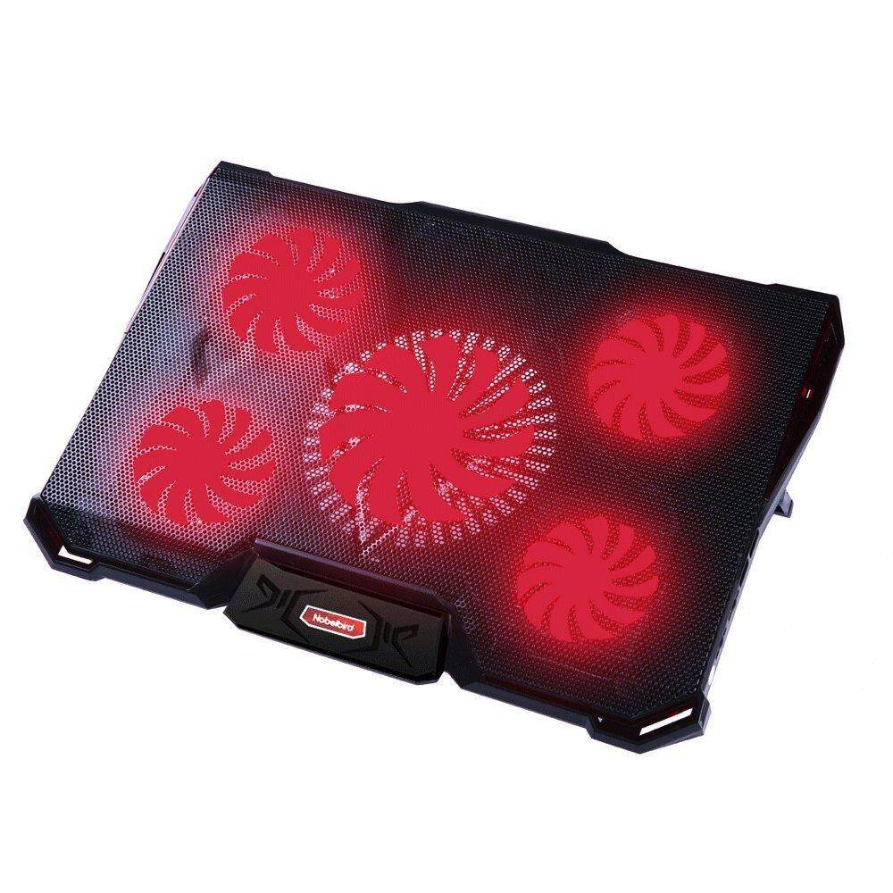 Stay Notebook cooling pad LED Laptop 5pcs LED Light Fans USB 2.0 Port Stand Pad for macbook air/pro Malaysia
