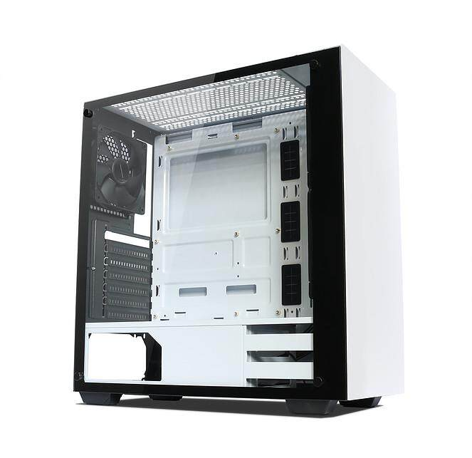 # TECWARE NEXUS ATX Tempered Glass Chassis # Black | White | Black+White Malaysia