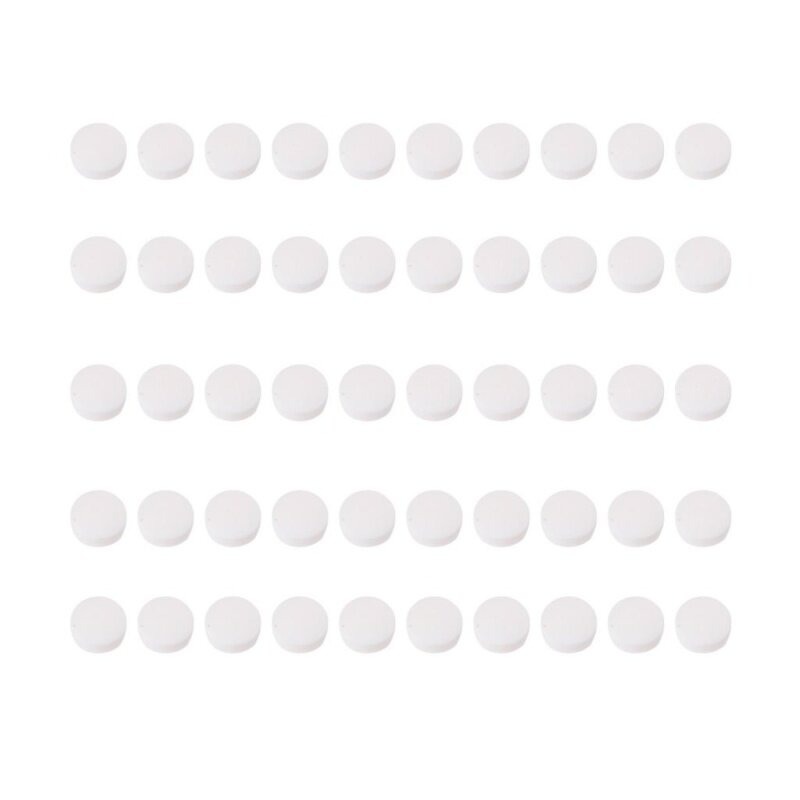 50x Fingerboard Inlay Dots 6mm White Pearl Shell For Guitars Ukuleles Mandolins Malaysia