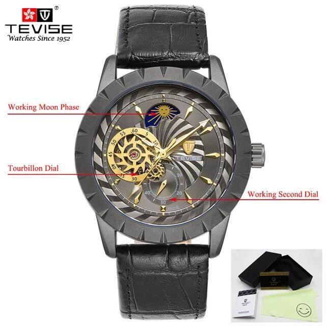 d61209300c7 Men s Watch Top Brands Luxury Goods TEVISE Clock Movement Tourbillon  Automatic Watches Men s Watches relogio masculino