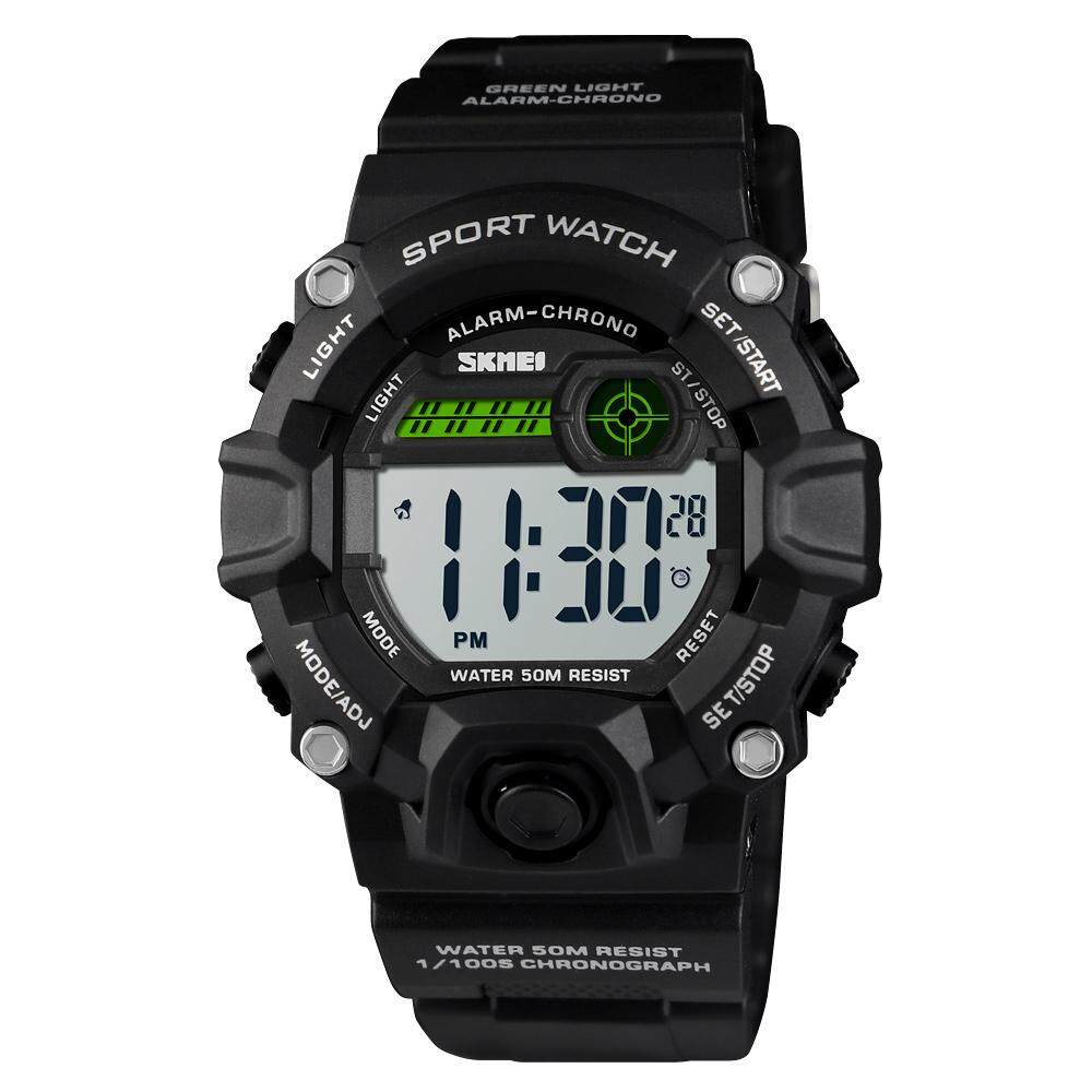 Skmei Digital Kids Watches Girls Boys with Alarm Chronograph, Waterproof EL Light Dual Time 12/24h Sport Watch for Children Student 6 7 8 9 10 11 12 years old Malaysia