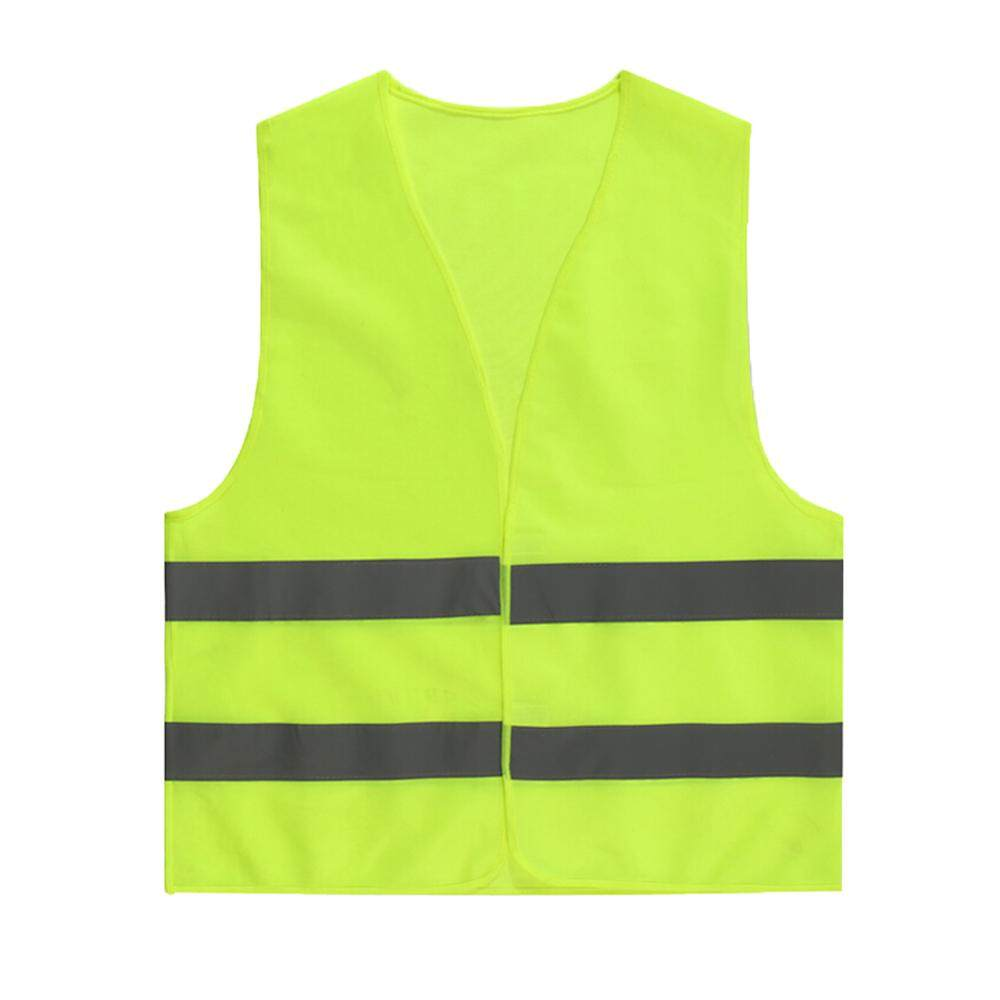Yellow HIGH VISIBILITY Vest Safety Waistcoat Hi Vis / Viz Jacket