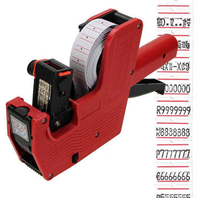 New Generic Mx5500 Eos 8 Digits Price Tag Gun Labeler Labeller Included Labels By Valueshopping-Mal.