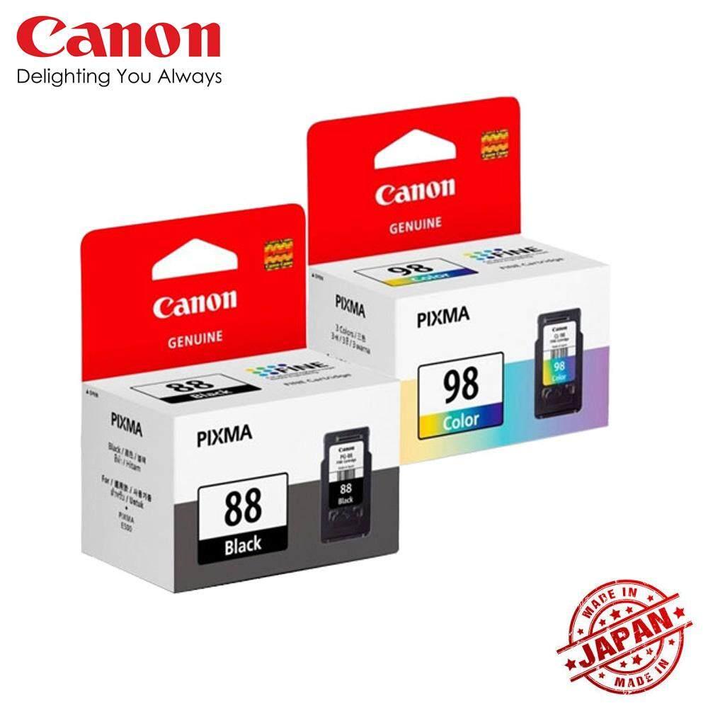 Canon Pg 88 Cl 98 Ink Cartridge Black Color Pg88 Cl98 Catridge 811 Colour