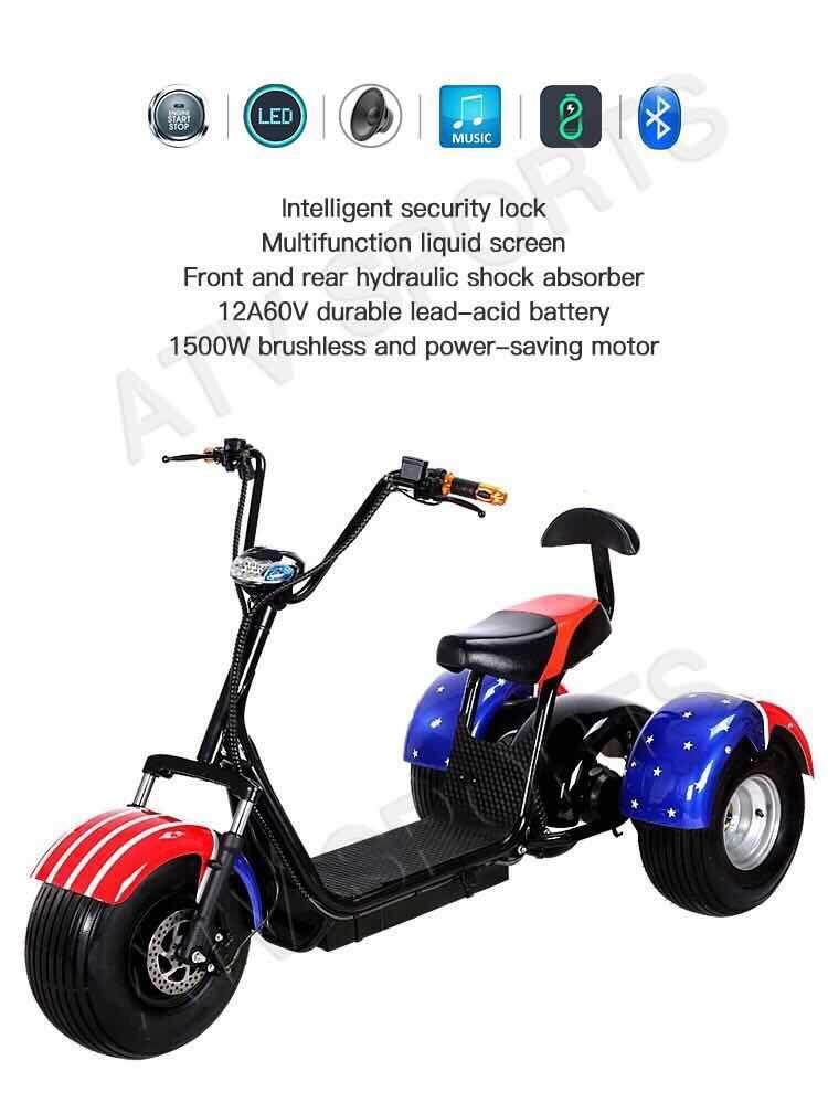 Scooter 3 Wheels By Atv Sports And Style Sdn Bhd.