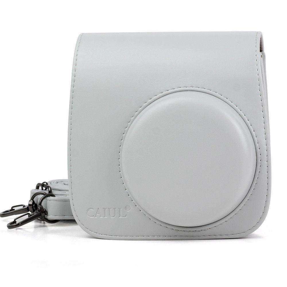 For Fujifilm Fuji Instax Mini 8 9 Film Camera Pu Leather Bag Shoulder Cover Case By Misuta.