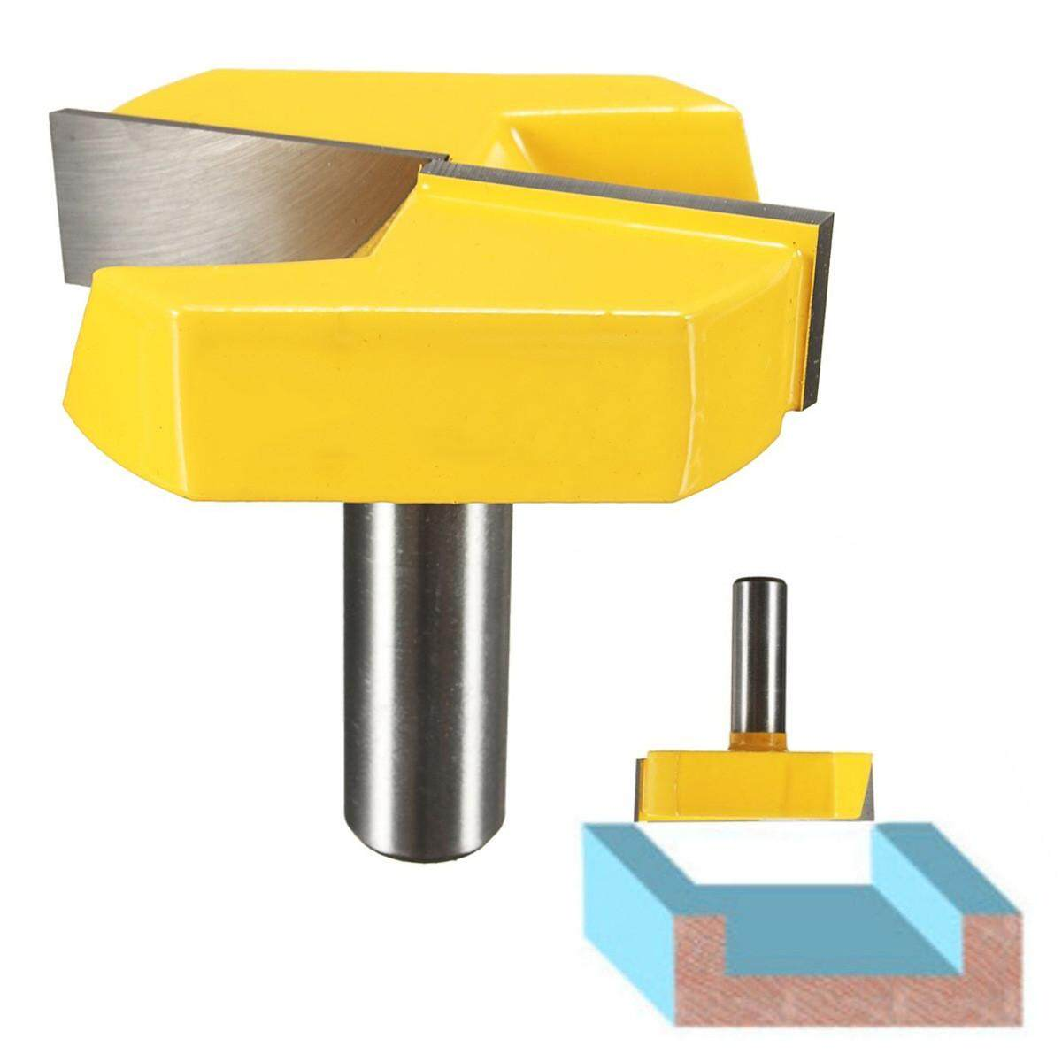 JY 1/2inch Shank Dia Bottom Cleaning Router Bit Woodworking Milling Cutter Tool