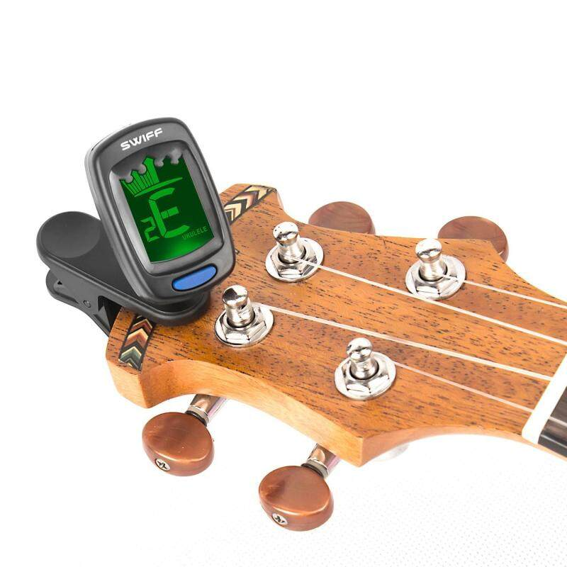Chiants Clip-on Tuner, Tuner For Guitar, Ukulele, Violin, Large LCD Display Malaysia