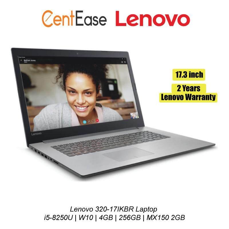 Lenovo 320-17IKBR Laptop i5-8250U| W10| 17.3 FHD IPS| 4GB| 256GB| MX150 2GB Malaysia